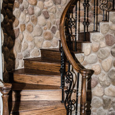 Traditional Staircase by Kitty Raulston-Thomas Interior Designs