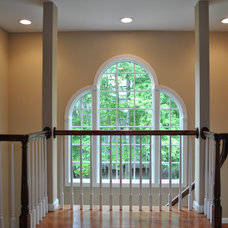 Traditional Staircase by Design Build Pros