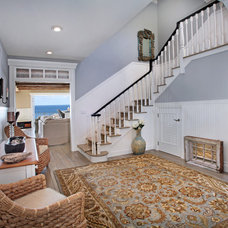 Beach Style Staircase by James Glover Residential & Interior Design