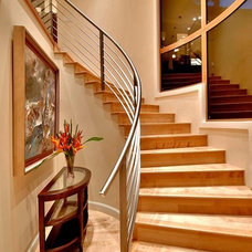 tropical staircase by Tervola Designs