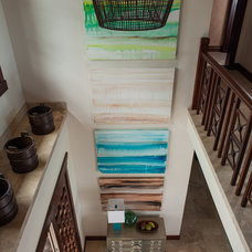 Contemporary Staircase by Henderson Design Group