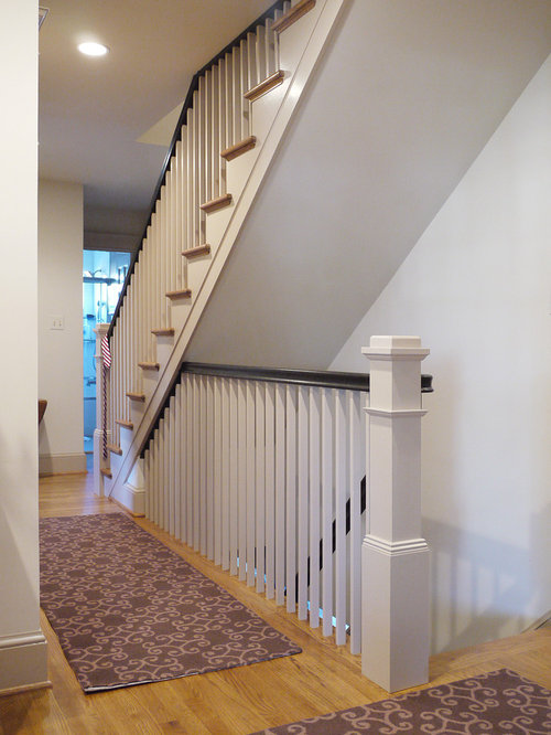Open Basement Stair Home Design Ideas, Pictures, Remodel And Decor