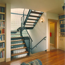Eclectic Staircase by Mark Brand Architecture