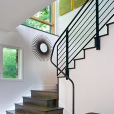 Contemporary Staircase by Carlton Architecture