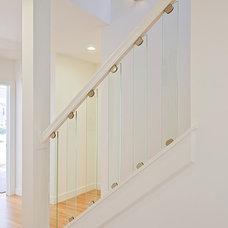 Modern Staircase by Lauren King Interior Design