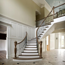 Traditional Staircase by McKay Architects