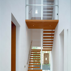 Contemporary Staircase by Mclean Quinlan