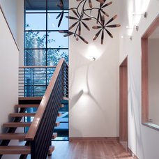 Modern Staircase by Bernbaum-Magadini Architects