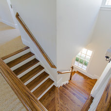 Traditional Staircase by Abbey Construction Company, Inc.