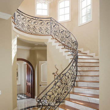 Mediterranean 9,000 square foot Street of Dreams Designer
