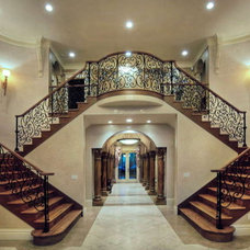 Mediterranean Staircase by Allemand Designs/Kirkland Painting Company