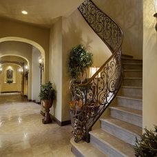 Mediterranean Staircase by Gina Spiller Design
