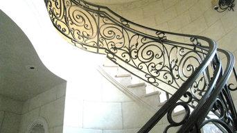 Mediterranean Stair Rail