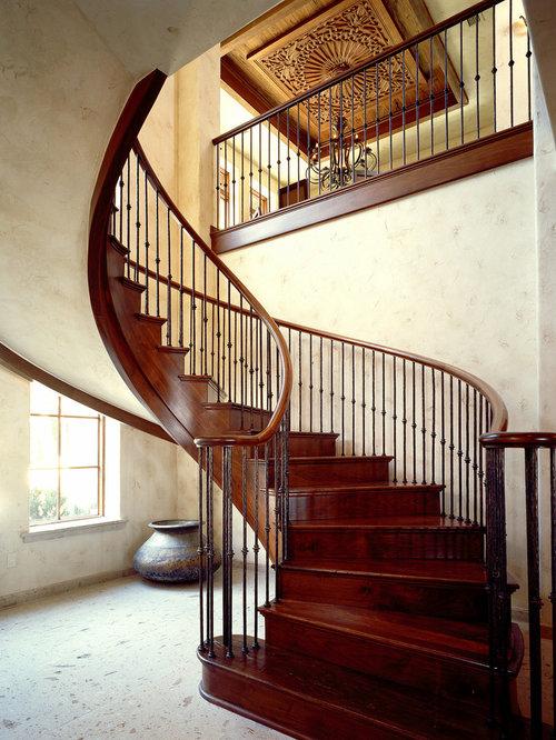 Mediterranean Staircase Tower : Mediterranean staircase houzz
