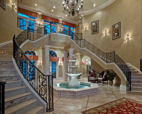 Waterfall Staircases Home Design Ideas Pictures Remodel And Decor