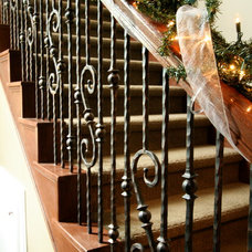 Traditional Staircase by Sneller Custom Homes and Remodeling, LLC