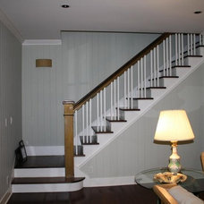 Eclectic Staircase by Heidi Hornaday, Architect, P.C.