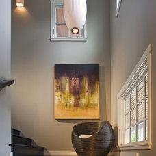 Contemporary Staircase by Jessica Risko Smith Interior Design