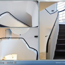 Modern Staircase by Railinglondon ltd