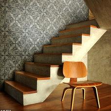 Contemporary Staircase by DXU by Dumas Umemoto