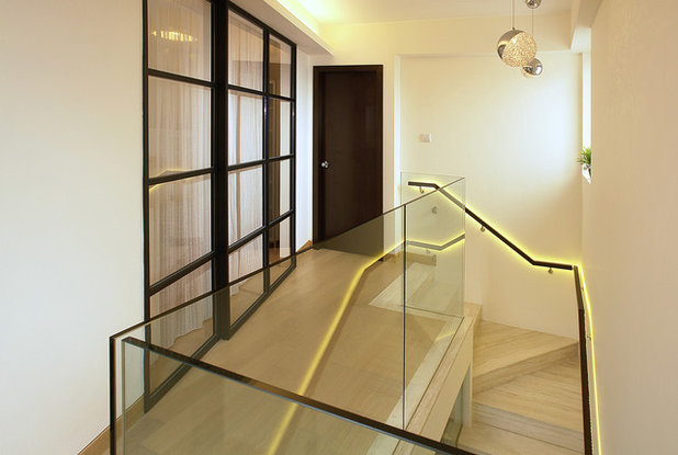 Contemporain Escalier by Ample DESIGN