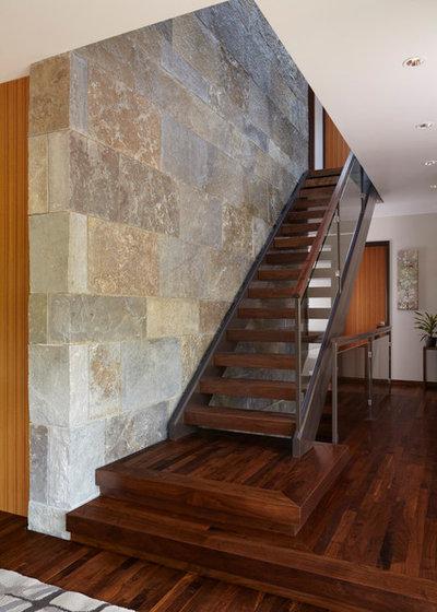 Contemporáneo Escalera by Ingrained Wood Studios: The Lab