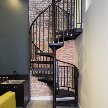 Metropolitan Home Office Spiral Staircase
