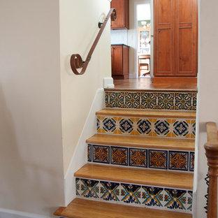 Exemple d'un petit escalier sud-ouest américain.