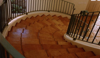 mexican saltillo curved staircase