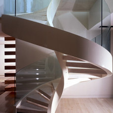 Modern Staircase by Magni Inc