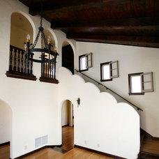 Mediterranean Staircase by Andersen Miller Design