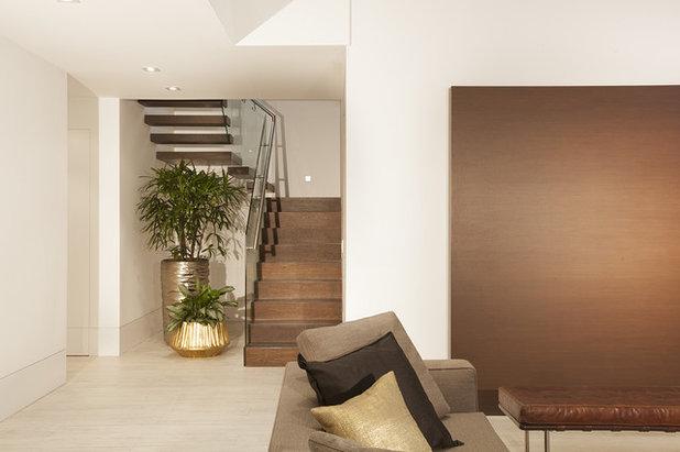 Contemporary Staircase by DKOR Interiors Inc.- Interior Designers Miami, FL