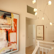 Staircase Michael Mullin San Francisco Architect - Bay Area Projects - Mill Valley