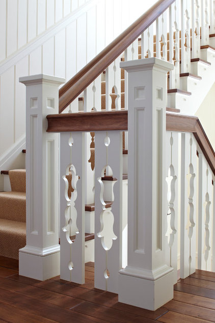 Beach Style Staircase by Tom Stringer Design Partners