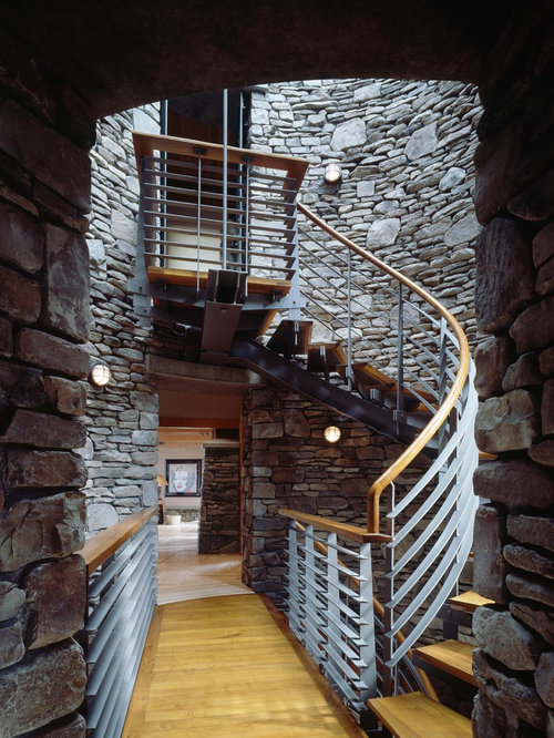 Stair tower houzz for Stair tower
