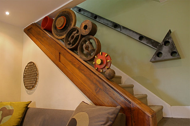 Contemporary Staircase by Dan Davis Design
