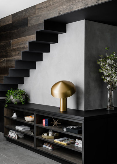 Contemporary Staircase by BALDASSO CORTESE