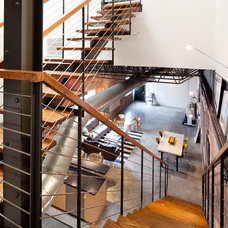 Industrial Staircase by Laura U, Inc.