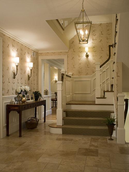 Houzz Traditional Foyer : Foyer wainscoting houzz