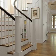 Beach Style Staircase by Cushman Design Group