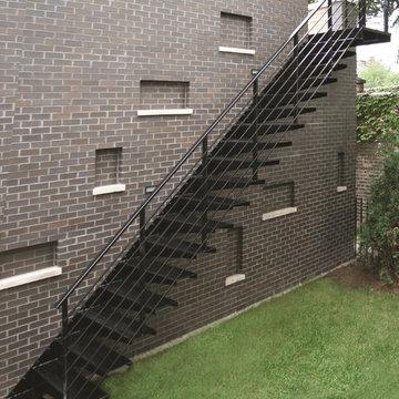 MILK Design Sydney Exterior Staircase