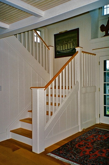 Traditional Staircase by Joseph B Lanza Design + Building