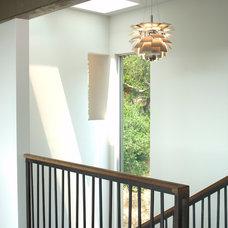 Modern Staircase by Suzette Sherman Design