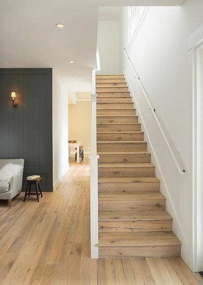 Farmhouse Staircase by Richardson Architects