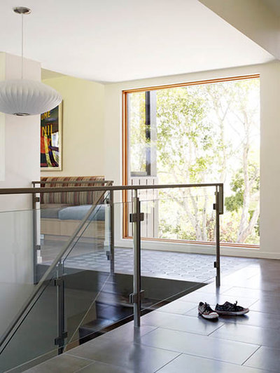 Modern Staircase mill valley residence