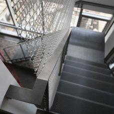 Contemporary Staircase by MusaDesign Interior Design