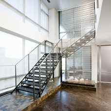 Contemporary Staircase by MusaDesign Interior Design
