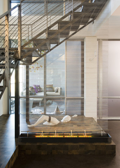 Contemporain Escalier by MusaDesign Interior Design