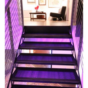 Millennium Tower Loft- Stair case