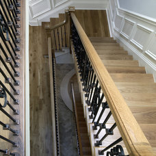 Mediterranean Staircase by Orren Pickell Building Group